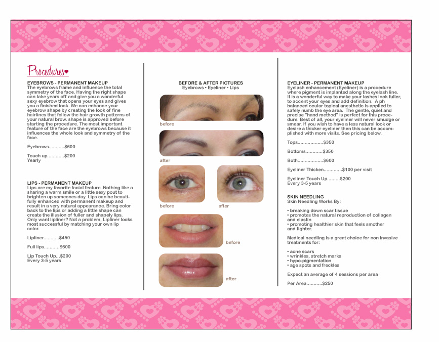 Monterey naturally gorgeous for Eyebrow tattoo aftercare instructions